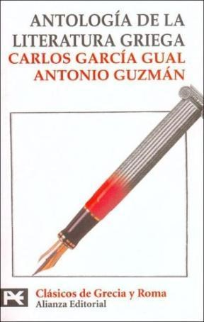 Papel Antologia De La Literatura Griega (Bt 8232)