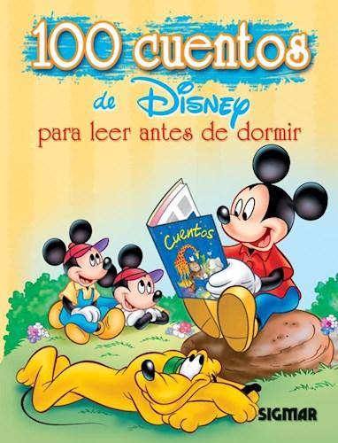 Cien Cuentos De Disney Para Leer Antes De Dormir (Acolchado