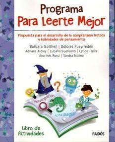 Papel PROGRAMA PARA LEERTE MEJOR [LIBRO DE ACTIVIDADES] (CUADERNOS DE EVALUACION PSICOLOGICA 8068026)