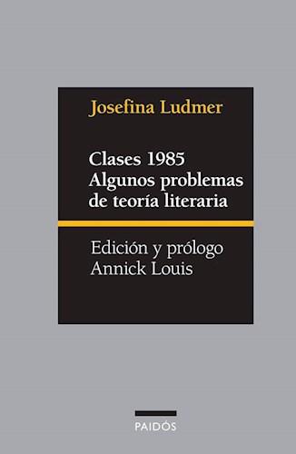Clases 1985 Algunos Problemas De Teoria Literaria