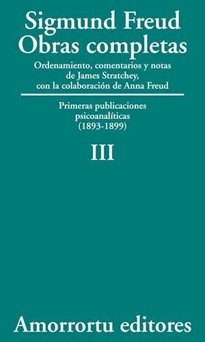 Papel Obras Completas 03 Sigmund Freud