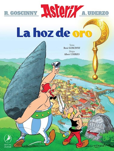 Papel HOZ DE ORO (COLECCION ASTERIX EL GALO 2) [ILUSTRADO]