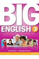 Papel BIG ENGLISH 3 STUDENT'S BOOK (AMERICAN ENGLISH)