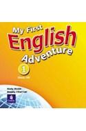 Papel MY FIRST ENGLISH ADVENTURE 1 CLASS CD
