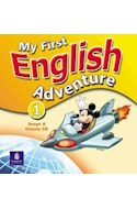 Papel MY FIRST ENGLISH ADVENTURE 1 SONGS AND CHANTS CD