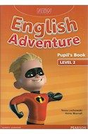 Papel NEW ENGLISH ADVENTURE 2 PUPIL'S BOOK + CD