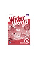 Papel WIDER WORLD 4 WORKBOOK PEARSON (WITH EXTRA ONLINE HOMEWORK) (NOVEDAD 2018)