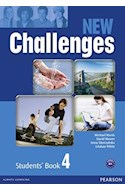 Papel NEW CHALLENGES 4 SUDENT'S BOOK