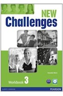Papel NEW CHALLENGES 3 WORKBOOK (C/AUDIO CD)