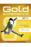 Papel GOLD EXPERIENCE B1+ PRE FIRST FOR SCHOOLS (STUDENT'S BOOK + CD) (WITH MY ENGLISH LAB)