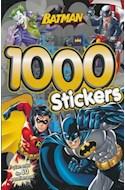 Papel BATMAN 1000 STICKERS (RUSTICA)