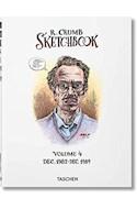 Papel ROBERT CRUMB SKETCHBOOK 4 DEC. 1982-DEC. 1989 (CARTONE)