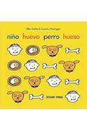 Papel NIÑO HUEVO PERRO HUESO [ILUSTRADO] (CARTONE)