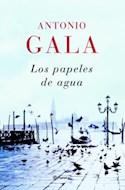 Papel PAPELES DE AGUA (AUTORES ESPAÑOLES E IBEROAMERICANOS) (CARTONE)