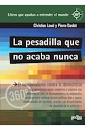 Papel PESADILLA QUE NO ACABA NUNCA (COLECCION CLAVES CONTEMPORANEAS)