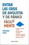 Papel EVITAR LAS CRISIS DE ANGUSTIA Y DE PANICO FACILMENTE (BOLSILLO)