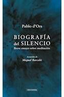 Papel BIOGRAFIA DEL SILENCIO (BOLSILLO)