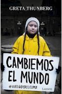 Papel CAMBIEMOS EL MUNDO #HUELGAPORELCLIMA (BOLSILLO)