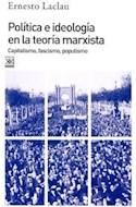 Papel POLITICA E IDEOLOGIA EN LA TEORIA MARXISTA CAPITALISMO FASCISMO POPULISMO (SOCIOLOGIA Y POLITICA)