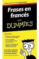 Papel FRASES EN FRANCES PARA DUMMIES (RUSTICA)