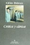 Papel CRITICA Y CLINICA (COLECCION ARGUMENTOS 174)