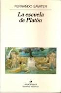 Papel ESCUELA DE PLATON (COLECCION NARRATIVAS HISPANICAS)