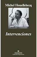 Papel INTERVENCIONES (COLECCION ARGUMENTOS 421)