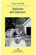 Papel INFORME DEL INTERIOR (COLECCION PANORAMA DE NARRATIVAS 848)