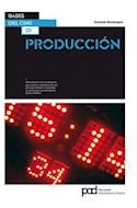 Papel PRODUCCION (BASES DEL CINE)