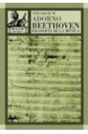 Papel BEETHOVEN FILOSOFIA DE LA MUSICA (AKAL MUSICA 14) (CART  ONE)