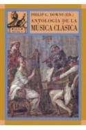 Papel ANTOLOGIA DE LA MUSICA CLASICA (AKAL MUSICA) (RUSTICO)