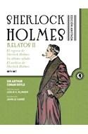 Papel SHERLOCK HOLMES ANOTADO (RELATOS II) (COLECCION GRANDES LIBROS) (CARTONE)
