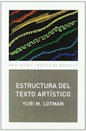 Papel ESTRUCTURA DEL TEXTO ARTISTICO (BASICA DE BOLSILLO 243)