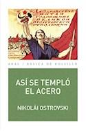 Papel ASI SE TEMPLO EL ACERO (BASICA DE BOLSILLO 302) (RUSTICO)