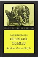 Papel MEMORIAS DE SHERLOCK HOLMES (COLECCION BASICA DE BOLSILLO)