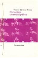 Papel MONTAJE CINEMATOGRAFICO TEORIA Y ANALISIS (PAIDOS COMUNICACION CINE 34086)