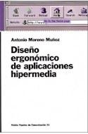 Papel DISEÑO ERGONOMICO DE APLICACIONES HIPERMEDIA (PEPELES DE COMUNICACION 55031)