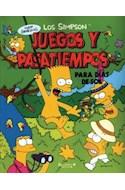 Papel JUEGOS Y PASATIEMPOS PARA DIAS DE SOL (LOS SIMPSONS)