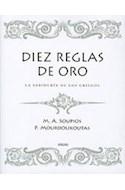 Papel DIEZ REGLAS DE ORO LA SABIDURIA DE LOS GRIEGOS (2 EDICION) (CARTONE)