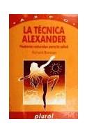 Papel TECNICA DE ALEXANDER POSTURAS NATURALES PARA LA SALUD
