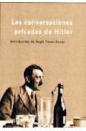 Papel CONVERSACIONES PRIVADAS DE HITLER (COLECCION MEMORIA CRITICA) (CARTONE)