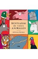Papel BESTIARIO DE VOCES ANIMALES (ILUSTRADO) (CARTONE)