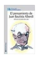 Papel PENSAMIENTO DE JUAN BAUTISTA ALBERDI (CLAVES DEL BICENTENARIO)