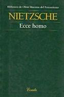 Papel ECCE HOMO (OBRAS MAESTRAS DEL PENSAMIENTO 47)