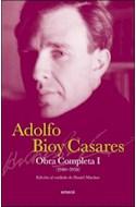 Papel OBRA COMPLETA I (1940-1958) (EDICION AL CUIDADO DE DANIEL MARTINO) (CARTONE)