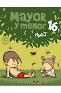 Papel MAYOR Y MENOR 16 (COLECCION PRIMERA SUDAMERICANA) [ILUSTRADO]