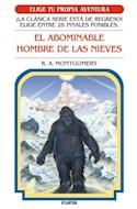 Papel ABOMINABLE HOMBRE DE LAS NIEVES (COLECCION ELIGE TU PROPIA AVENTURA 11) (BOLSILLO) (RUSTICA)