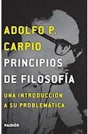 Papel PRINCIPIOS DE FILOSOFIA UNA INTRODUCCION A SU PROBLEMATICA