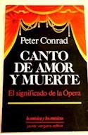 Papel CANTO DE AMOR Y MUERTE EL SIGNIFICADO DE LA OPERA (MUSICA Y LOS MUSICOS)