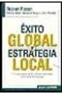 Papel EXITO GLOBAL Y ESTRATEGIA LOCAL EL CONOCIMIENTO DE LAS CULTURAS NACIONALES COMO CLAVE DE LIDERAZGO
